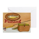 Fishing NoteCards (Pk of 10)