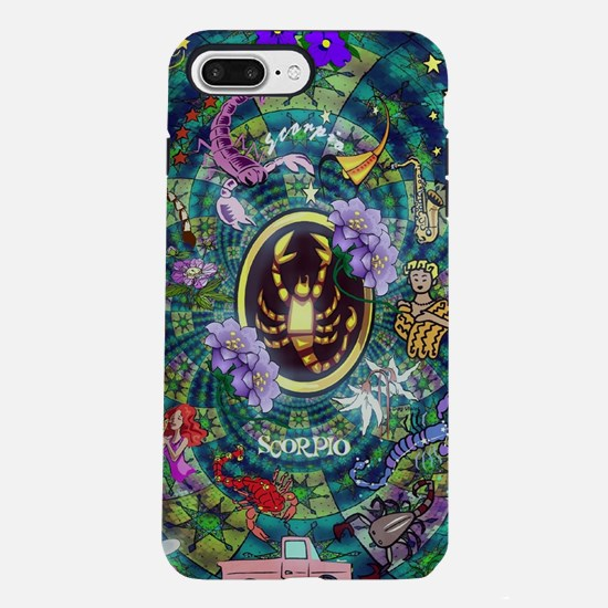 Star Quilt Scorpio iPhone 7 Plus Tough Case