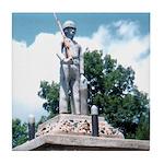 WW II Monument Tile Coaster