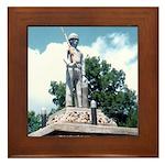 WW II Monument Framed Tile