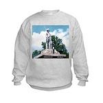 WW II Monument Kids Sweatshirt