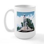WW II Monument Large Mug