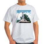 WW II Monument Ash Grey T-Shirt