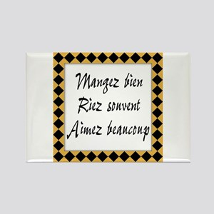 TILE-mangez-riez-aimez Magnets