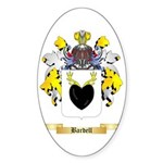 Bardell Sticker (Oval 50 pk)