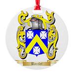 Barclet Round Ornament