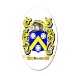 Barclet 20x12 Oval Wall Decal