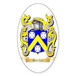 Barclay Sticker (Oval)