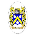 Barclay Sticker (Oval 50 pk)