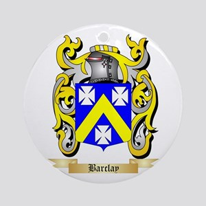 Barclay Ornament (Round)