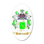 Barbuzzi 35x21 Oval Wall Decal