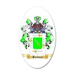 Barbuzzi 35x21 Oval Wall Decal