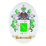 Barbuto Ornament (Oval)
