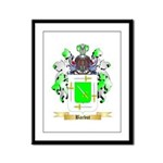 Barbut Framed Panel Print