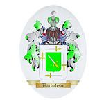 Barbulesco Ornament (Oval)