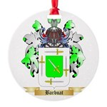 Barbuat Round Ornament