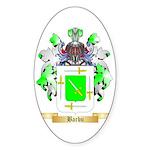 Barbu Sticker (Oval)