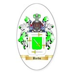 Barbu Sticker (Oval 50 pk)