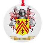 Barbour Round Ornament