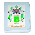 Barbot baby blanket