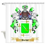 Barbot Shower Curtain