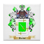 Barbot Tile Coaster