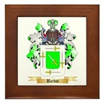 Barbot Framed Tile