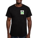 Barbone Men's Fitted T-Shirt (dark)