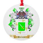 Barbone Round Ornament