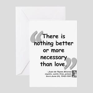 Alvarez Love Quote Greeting Card