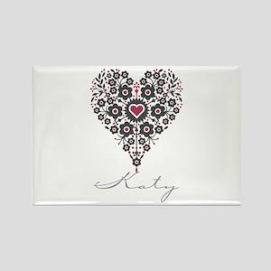 Love Katy Rectangle Magnet