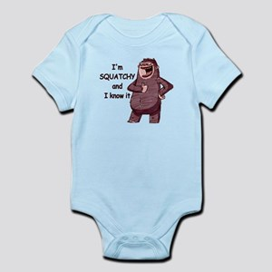 Squatchy & I Know It Infant Bodysuit