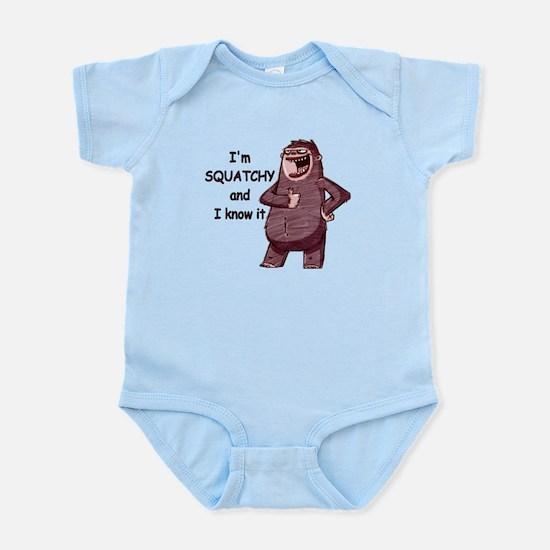 Squatchy & I Know It Infant Bodysuit