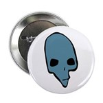 SKULL 001 BLUE Button