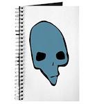 SKULL 001 BLUE Journal