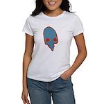 SKULL 001 BLUE Women's T-Shirt