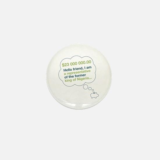 Spam Dream Piggy Mini Button