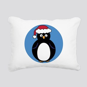 Happy Penguin Rectangular Canvas Pillow