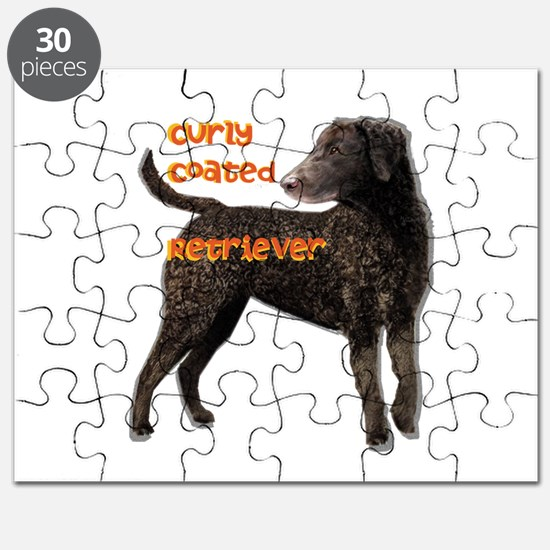 Curly Coated Retriever Puzzle