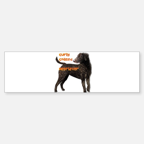 Curly Coated Retriever Sticker (Bumper)