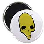 SKULL 001 GREEN Magnet