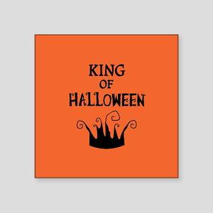 "crowngreetingcard Square Sticker 3"" x 3"""