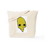 SKULL 001 GREEN Tote Bag