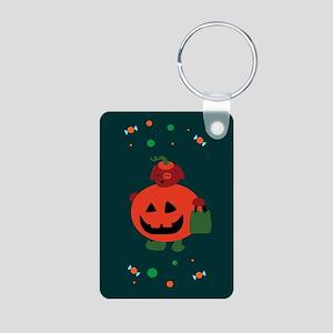 turquoisegreetincards Aluminum Photo Keychain