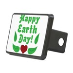 Happy Earth Day Rectangular Hitch Cover