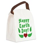 Happy Earth Day Canvas Lunch Bag