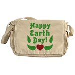 Happy Earth Day Messenger Bag