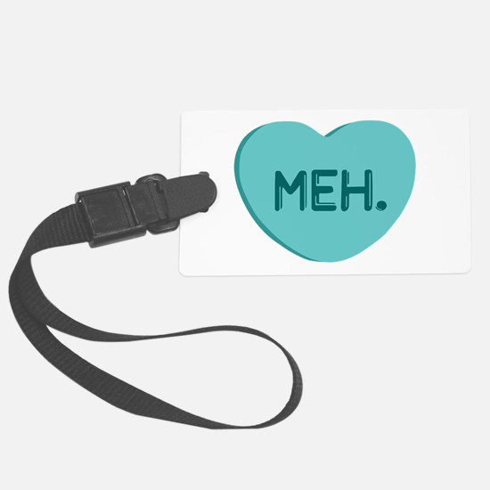 Meh Candy Heart Luggage Tag