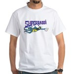 Superrabbi(super Rabbi)white(jewish)t-Shirt
