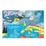 Superrabbi Postcards (package Of 8)